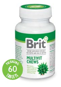 BRIT+ MULTIVIT CHEWS WITH ALOE VERA
